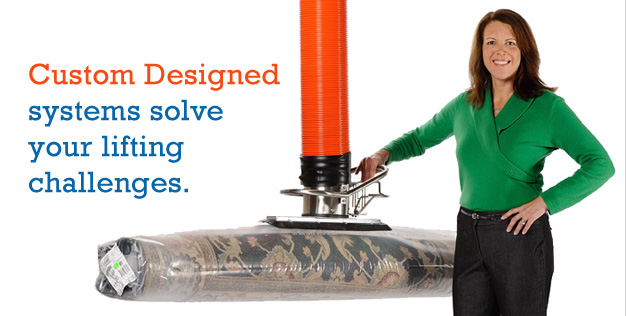 Custom designed solutions for your lifting challenges.